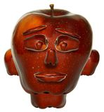сторона яблока иллюстрация штока