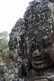 Сторона Angkor Thom Стоковая Фотография