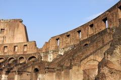 сторона colosseum внутренняя Стоковое Фото