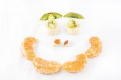 сторона fruits сделанное счастливое Стоковая Фотография RF