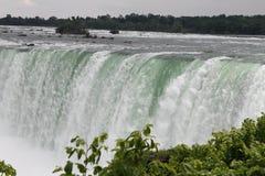 сторона niagara канадских падений стоковое изображение