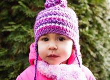 Сторона ` s девушки в шляпе Стоковые Фотографии RF