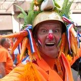 Сторонницы футбольной команды Голландии Стоковое Изображение