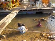 Стороны Малайзии, дети стоковые изображения rf