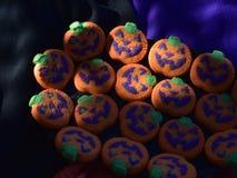 Стороны фонарика Джека o печений хеллоуина красочные Стоковое Изображение