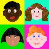 Стороны ` s детей Бесплатная Иллюстрация