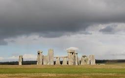 Стоунхендж Англия Великобритания Стоковая Фотография