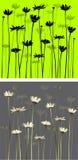 стоцветы предпосылки иллюстрация вектора