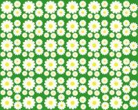 Стоцвет на зеленой предпосылке иллюстрация вектора