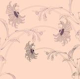 стоцвет предпосылки флористический Стоковая Фотография RF