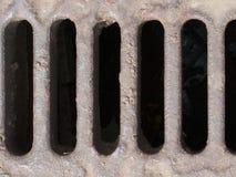 сточная труба люка -лаза Стоковые Фото