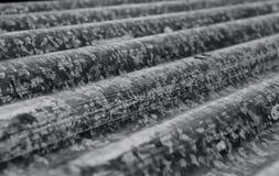 Сточные канавы закрывают вверх - черно-белое Стоковые Изображения RF