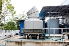 Стояк водяного охлаждения большой системы кондиционера Стоковые Фотографии RF