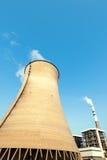 Стояк водяного охлаждения атомной электростанции Стоковые Фотографии RF