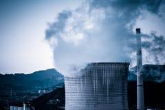 Стояк водяного охлаждения фабрики тяжелой индустрии в Пекине Стоковые Фото