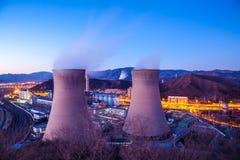 Стояк водяного охлаждения фабрики тяжелой индустрии в Пекине Стоковое Изображение