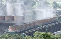 Стояк водяного охлаждения электростанции Стоковая Фотография RF