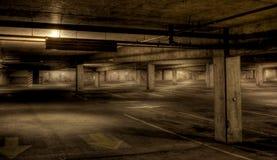 стоянка автомобилей гаража Стоковое Изображение RF