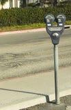 стоянка автомобилей метра смещенная Стоковая Фотография RF
