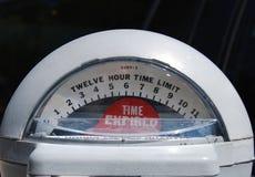 стоянка автомобилей метра Стоковая Фотография RF
