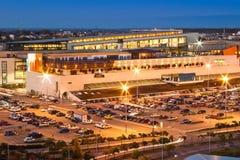 стоянка автомобилей мола Стоковая Фотография RF