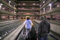 стоянка автомобилей палубы Стоковая Фотография RF