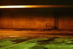 стоянка автомобилей 3 гаражей вакантная Стоковое Изображение RF