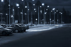 стоянка автомобилей Стоковые Фото