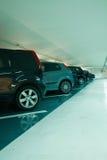 стоянка автомобилей стоковые фотографии rf