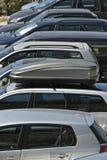 стоянка автомобилей Стоковые Изображения