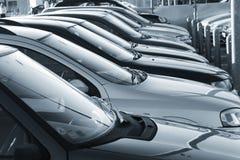 стоянка автомобилей Стоковое фото RF