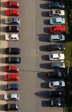 стоянка автомобилей Стоковая Фотография RF