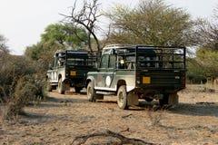 стоянка автомобилей bush стоковые изображения rf