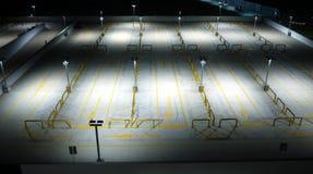стоянка автомобилей зоны пустая Стоковые Изображения RF