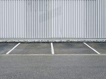 Стоянка автомобилей, стоянка автомобилей, здание, промышленное Стоковое Изображение