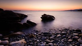 Стоять вне в Эгейском море Стоковые Изображения