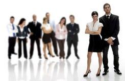 стоять деловых партнеров Стоковое Фото
