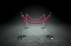 стоячки красной веревочки Стоковое Фото