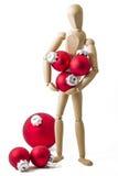Стоящая деревянная кукла III Стоковые Изображения