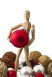 Стоящая деревянная кукла IV Стоковое Изображение