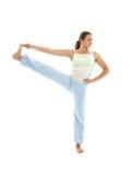 стоящая йога 2 Стоковые Фотографии RF