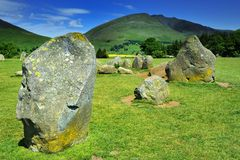 Стоящие камни Стоковое фото RF
