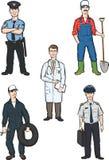 Стоящие люди различных занятий Стоковые Фотографии RF
