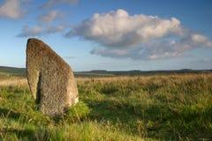 стоящий камень Стоковое Изображение