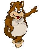 Стоящий медведь Стоковая Фотография