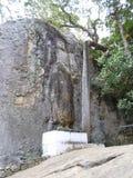 Стоя статуя Шри-Ланка Будды стоковые изображения