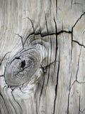 Стол амбара пола планки Knothole крупного плана винтажный деревянный Стоковые Фото