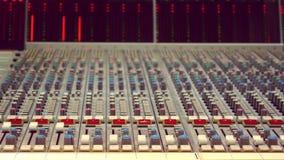 Стол аудио студии Стоковая Фотография