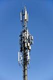 Столбец мобильной телефонной связи Стоковые Изображения