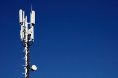 Столбец мобильной телефонной связи Стоковое Изображение RF